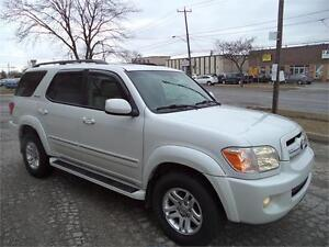 2005 Toyota Sequoia Limited TOP OF THE LINE NAVI DVD ACCIDENT FR