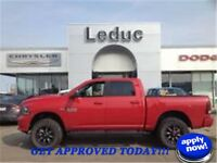 2013 RAM 1500 SPORT 4X4 - LIFTED CREW CAB and YOU ARE APPROVED!