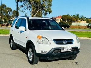 2002 Honda CR-V RD MY2002 4WD White 4 Speed Automatic Wagon Mawson Lakes Salisbury Area Preview