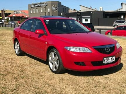 2003 Mazda 6 GG1031 Luxury Red 4 Speed Sports Automatic Hatchback Mile End South West Torrens Area Preview