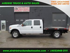 2011 Ford Super Duty F-350 SRW XL 8 feet flat bed !!