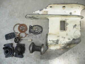 johnson/evinrude 25 30 35 gear case & simplex controles