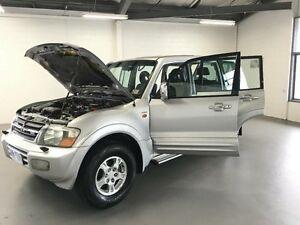 2001 Mitsubishi Pajero NM Exceed LWB (4x4) Silver 5 Speed Auto Sports Mode Wagon Frankston Frankston Area Preview