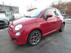 2012 FIAT 500 SPORT (MANUELLE, TOIT, MAGS, BLUETOOTH, FULL!!!)
