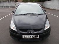MITSUBISHI COLT 1.1 BLACK 5 DOOR HATCHBACK ,, CHEAP TO RUN ,, CLEAN CAR,, MOT FEBRUARY 2019