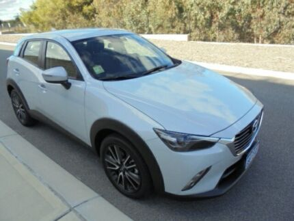 2016 Mazda CX-3 DK S Touring (AWD) Pearl White 6 Speed Automatic Wagon