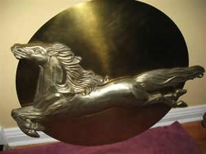 VERY ORNATE VINTAGE COPPER / BRONZE PIECE OF WALL DECOR.