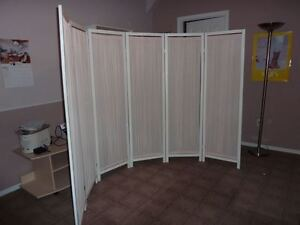 Large room divider screen