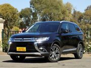 2015 Mitsubishi Outlander ZK MY16 XLS 4WD Black 6 Speed Constant Variable Wagon Enfield Port Adelaide Area Preview