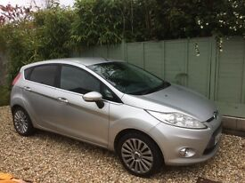 Ford Fiesta Titanium 2010 1.4 Petrol Manual
