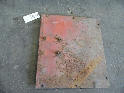 Allis-chalmers 180190185 Tractor Air Breather Mounting Plate Tag 311