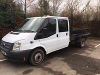 Ford Transit Crewcab Tipper 2012 2.2L Diesel 105,000 miles £7,995 - No VAT