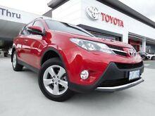 2013 Toyota RAV4 ALA49R Cruiser (4x4) Red 6 Speed Automatic Wagon Greenway Tuggeranong Preview