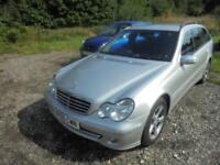 Mercedes C Class C220 CDI AVANTGARDE SE (silver) 2005