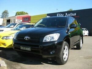 2006 Toyota RAV4 ACA33R CV (4x4) Black 4 Speed Automatic Wagon Camden Camden Area Preview