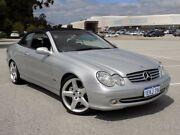 2003 Mercedes-Benz CLK500 A209 Elegance Silver 5 Speed Automatic Cabriolet Maddington Gosnells Area Preview