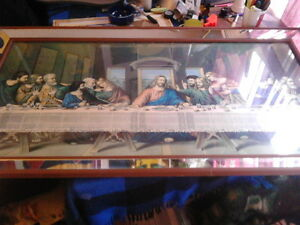 large last supper pic ready to hang