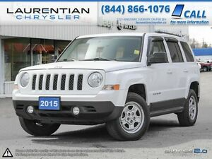 2015 Jeep Patriot Sport-BUILT FOR LIFE IN CANADA!