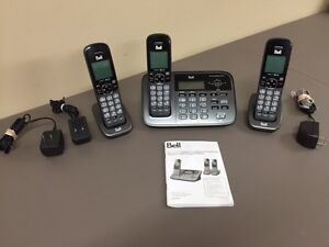 Answer phone system + 3 hands free sets