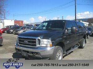 2004 Ford F-350 XLT 4x4 Diesel SERVICE HISTORY GREAT WORK TRUCK
