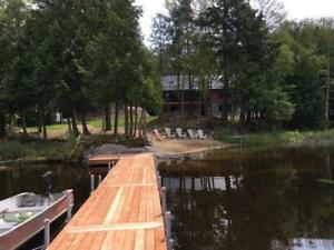 Lake Front Cottage Rental - Fall and Winter Dates Available