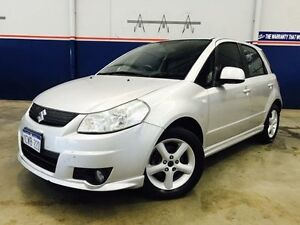 2008 Suzuki SX4 GY AWD Silver 4 Speed Automatic Hatchback Beckenham Gosnells Area Preview