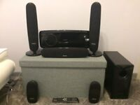 SAMSUNG HT-XQ100 - 500 WATT 5.1 DESIGNER HOME THEATRE KIT - VGC