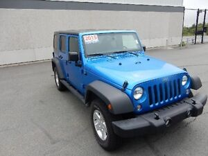 2015 JEEP WRANGLER UNLIMITED 4 DOOR SPORT 4x4