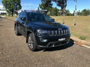 2018 Jeep Grand Cherokee WK MY18 Limited Diamond Black Crystal 8 Speed Sports Automatic Wagon