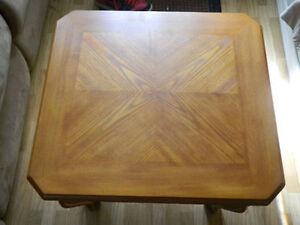 Beautiful Solid Wood End Tables-Mint Condition