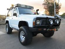 1988 Nissan Patrol  White Manual 2DR SWB Silverwater Auburn Area Preview
