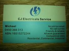cj electrical Seven Hills Blacktown Area Preview