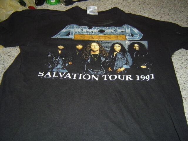 ARMORED SAINT T-Shirt - 1991 Tour Shirt - SYMBOL OF SALVATION Vintage Original