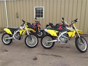 2016 Suzuki RM-Z250 & RM-Z450 NOW IN STOCK!!