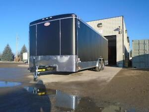 SCREWLESS ENCLOSED AUTO HAULER/CARGO 8 X 20' ATLAS -LOWEST PRICE London Ontario image 3