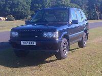 Range Rover P38 Diesel Auto County Estate