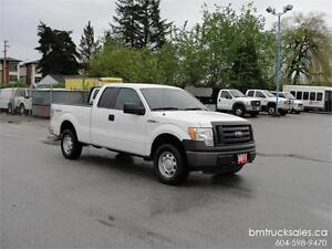 2011 FORD F-150 XL EXTENDED CAB SHORT BOX 4X4 ONLY 57000KM
