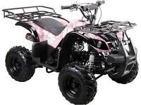NEW 2015 TTC FX110 UTILITY Widetrack Kids Quads ATV with REVERSE