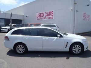 2013 Holden Commodore White Sports Automatic Wagon