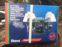 Bench Grinder - FERM FM-150 (New, boxed)