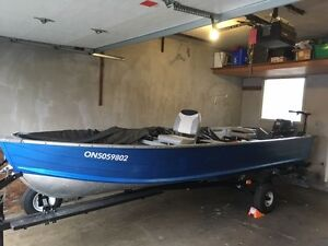 16' Starcraft with 2012 Yamaha 25 HP & Accessories