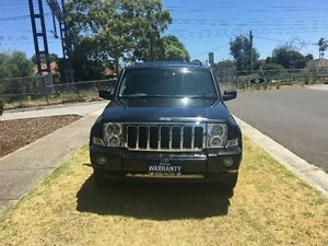 2007 Jeep Commander XH Limited Black 5 Speed Automatic Wagon Melbourne CBD Melbourne City Preview