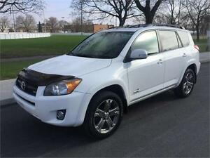 2009 TOYOTA RAV4  LIMITED , 4X4, AUTOMATIQUE , 113.000 KM ,CUIR