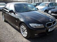 BMW 3 SERIES 2.0 318I SE 4d 141 BHP (black) 2010