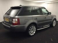 2007 (07) RANGE ROVER 3.6 TDV8 HSE SPORT, FSH! SAT NAV! HARMAN KARDON! AND MORE 95K