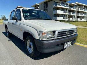 1998 Toyota Hilux LN147R 4x2 White 5 Speed Manual Utility Somerton Park Holdfast Bay Preview