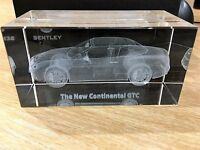 Bentley GTC Paperweight