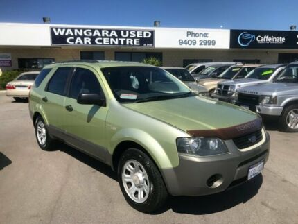 2004 Ford Territory SX TX (RWD) Crystal Green 4 Speed Auto Seq Sportshift Wagon Wangara Wanneroo Area Preview