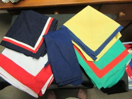 Worldwide Lot of 5 Scout Scarfs Neckerchiefs      FX  #6