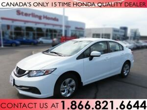 2014 Honda Civic Sedan LX | 1 OWNER